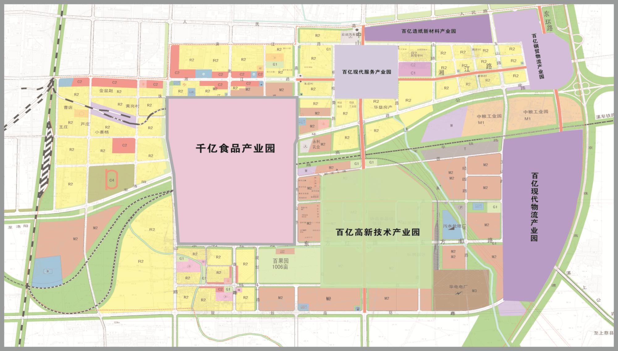 漯河街道地图高清版