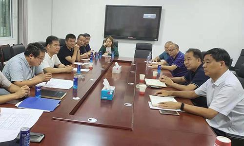 山东科迈达董事长王保忠来区就项目合作沟通洽谈