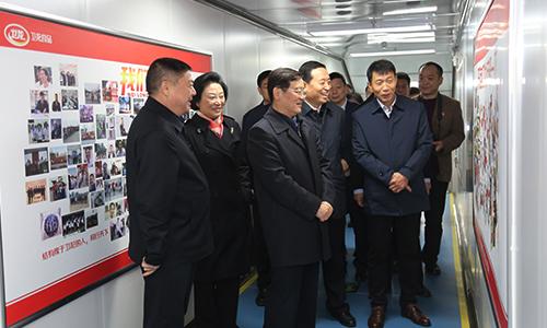 徐乐江来区调研工业企业发展情况