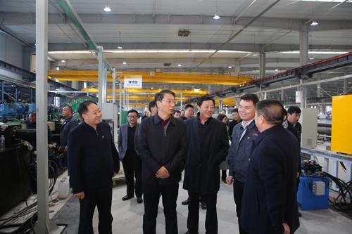 市長劉尚進來區調研專業園區建設工作