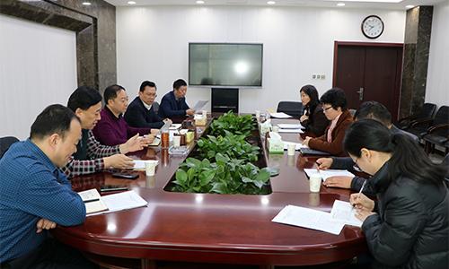 區黨工委書記吳玉培召開書記專題會議