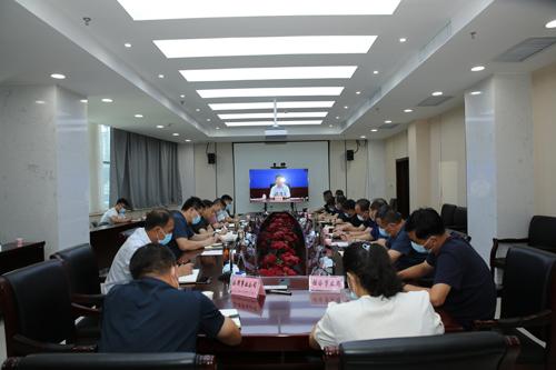 我区组织收听收看全省防汛工作视频会议 中国财经新闻网 www.prcfe.com