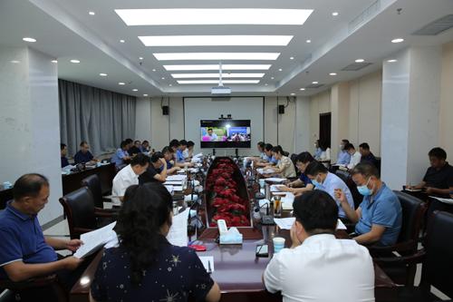 我区组织收听收看市委市政府第10次重点工作周交办视频会议