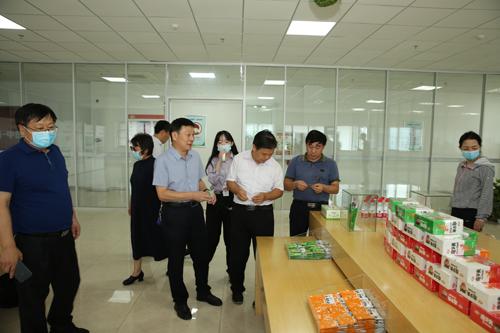 焦作市考察团来区考察工作 中国财经新闻网 www.prcfe.com