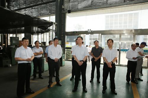 河南工业大学调研组来区调研工作