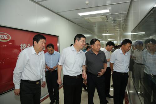 河南工业大学调研组来区调研工作 中国财经新闻网 www.prcfe.com