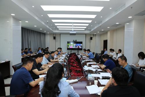 我区组织收听收看市委市政府第11次重点工作周交办视频会议