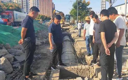 公用事业管理处开展在建工程质量安全环保节前检查